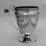 .Child′s Cup Rosette Gorham 1869 Sterling Silver