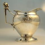 .Gorham Coin Silver Medallion Creamer Gorham 1865