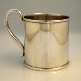 .American Coin Silver Cup C. Bard and Son 1852