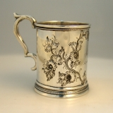 .American Coin Silver Child′s Cup 1852