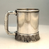 .Sterling Silver Child′s Cup Gorham 1881