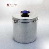 .Norwegian Sterling Tea Caddy David Andersen 1950