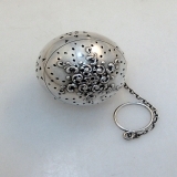 .Webster Sterling Silver Pattern 18 Tea Ball 1920