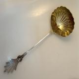 .Gorham Medallion Silver Soup Ladle 1860