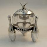.Gorham Figural Sterling Silver Salt Dish 1880