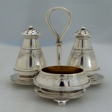 .Tiffany and Co Sterling Silver Salt and Pepper Set 1875