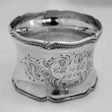 .Continental Coin Silver Napkin Ring 1863