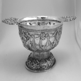 .Dutch Brandy Bowl Pier van der Woude 1910 Sneek 833 Silver