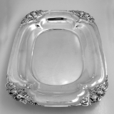.American Arts and Crafts Inspired Handwrought Sterling Silver Tray Watson 1930