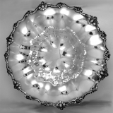 .Elaborate Scroll Bowl Shreve and Co Sterling Silver 1900