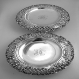 .Tiffany and Co. Silverplated Serving Dishes New York 1885