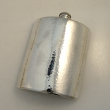 .J. Myer Lebolt Handwrought Sterling Flask Chicago 1925