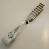 .Weishaupt German 800 Silver Asparagus Tongs Munich 1930