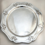 .14th Century Round Tray Shreve and Co. Sterling Silver 1915