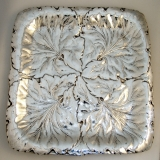 .Repousse Foliate Tray Reed and Barton Sterling Silver 1934