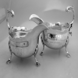 .Barnards Inn Gravy Boats George Ibbot London 1762