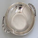 .Arts and Crafts Serving Bowl  Randahl  1940 Sterling  Silver