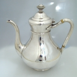 .Russian 84 Silver Tea Pot St. Petersburg 1875