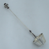 .American Aesthetic Sterling Silver Cream Ladle  Bucket George Sharp 1865