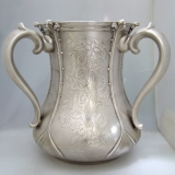 .Loving Cup Tiffany Acid Etched American Sterling Silver 1906