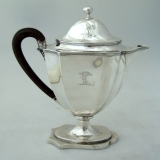 .Sterling Silver Coffee Pot Henry Chawner London 1793