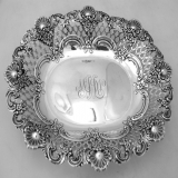 .Sterling Silver Tiffany and Co. Open Work Serving Bowl New York 1900
