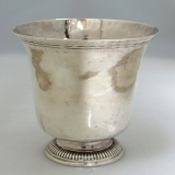 .French Sterling Silver Beaker Louis-Jacques Berger 1798 Paris