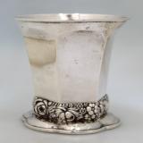 .Austrian Continental 800 Silver Beaker Lienz  Austria 1850