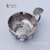 .Wine Taster Taste Vin French 950 Sterling Silver 1890