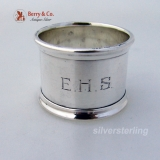 .Flared Rim Heavy Gorham Napkin Ring W10 Sterling SIlver