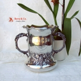 .University Of Pennsylvania Medical School Presentation Cup 1902 Sterling Silver