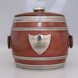 .Arts and Crafts Mixed Metal Humidor Shreve San Francisco 1902 Sterling Silver