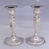 .Colonial Rivival Candlesticks Gorham Sterling Silver 1900