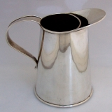 .Martini Pitcher Cartier Arts and Crafts Sterling Silver Hand Made 1930
