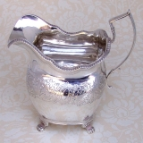 .Irish Creamer Dublin 1819 Sterling Silver