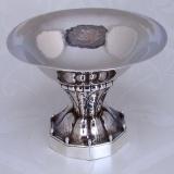 .Jensen Pedestal Bowl 42B 1931 Sterling Silver