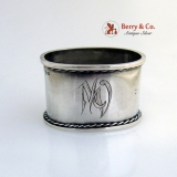.Estonian 875 Silver Napkin Ring 1920