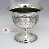.American Institute Fair Goblet 1857 Coin Silver