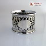 .Gorham Sterling Silver Napkin Ring 1890