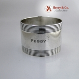 .Tiffany And Co Sterling Silver Napkin Ring 1960