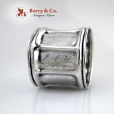 .Coin Silver Napkin Ring 1858