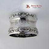 .Strasbourg Sterling Silver Napkin Ring Gorham 1900