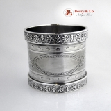 .Coin Silver Large Napkin Ring 1870