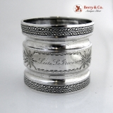 .Shiebler Sterling Silver Napkin Ring 1890
