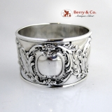 .Sterling Silver Beautiful Napkin Ring 1890