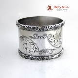 .Coin Silver Napkin Ring 1880 No Mono
