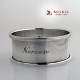 . Noreen Napkin Ring Towle Sterling Silver 1940