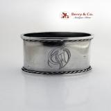 . Estonian Napkin Ring 1920 Edward Radus Tallinn 875 Standard Silver