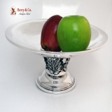 .Art Deco Fruit Bowl Acanthus Leaf Gorham 1940 Sterling Silver