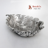 .Oak Leaf Dish Buccellati Sterling Silver